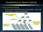 considerations for network switches1
