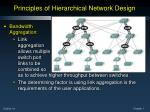principles of hierarchical network design2