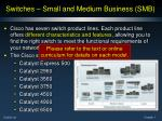 switches small and medium business smb