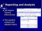 reporting and analysis3