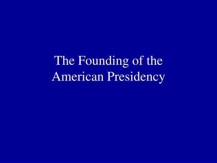 a discussion on the powers of the presidency Ch 8 presidency ch 9 bureaucracy ch 3 federalism - study questions (with answers) as written in the tenth amendment all other powers to.