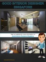 good interior designer singapore