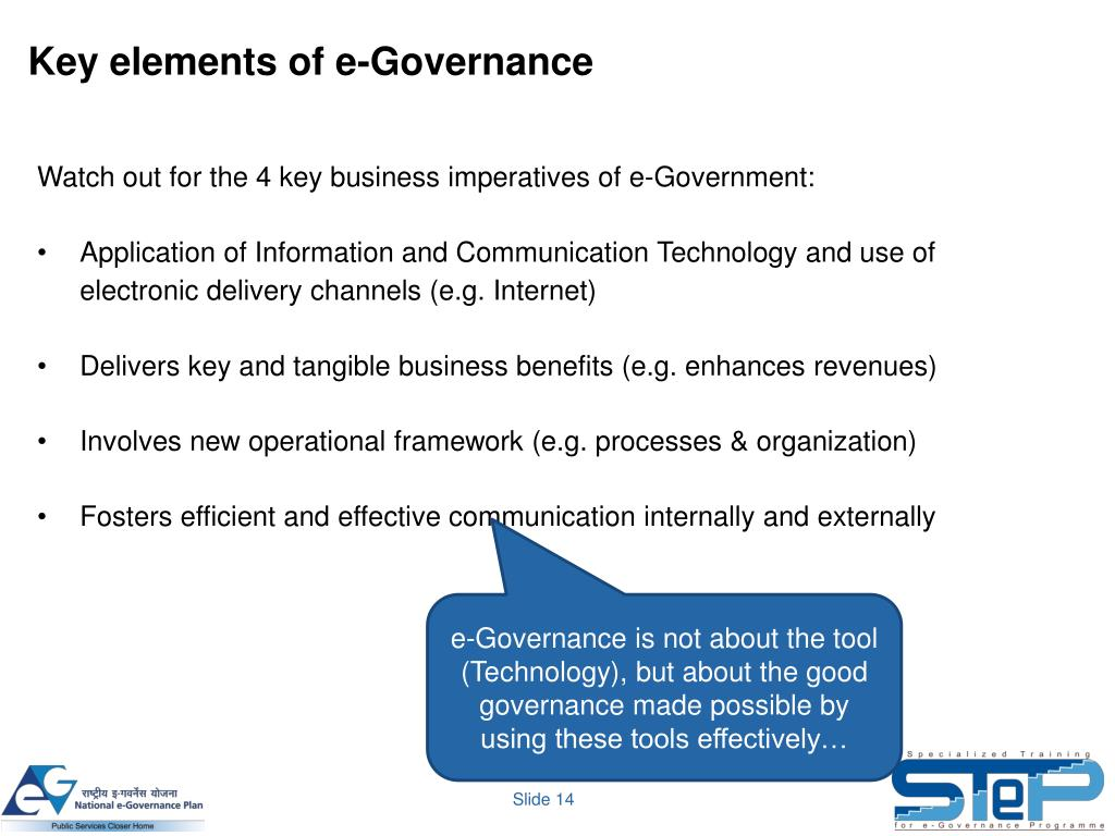 what is e governance project