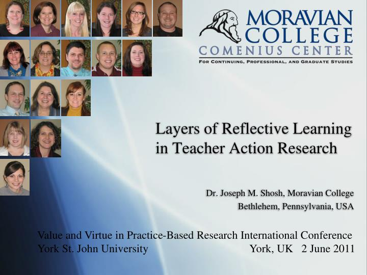 Layers of reflective learning in teacher action research