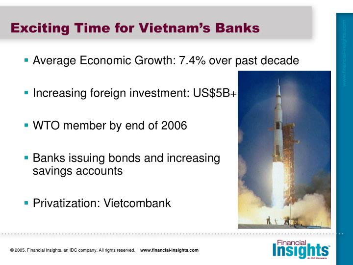 Exciting Time for Vietnam's Banks