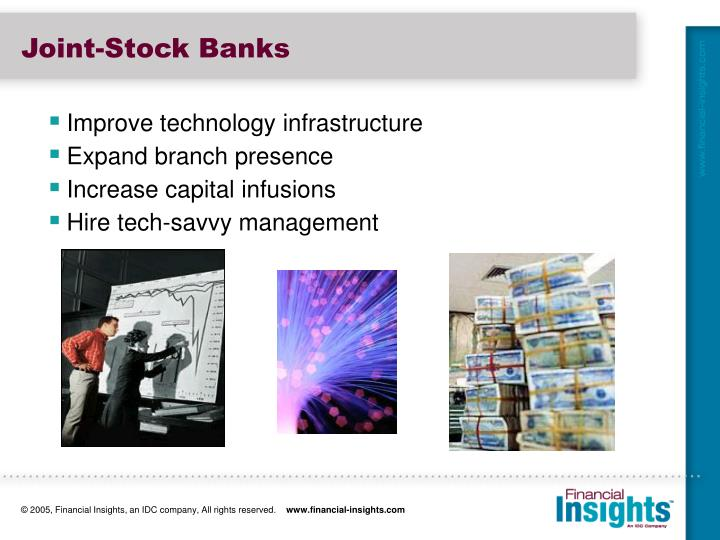 Joint-Stock Banks