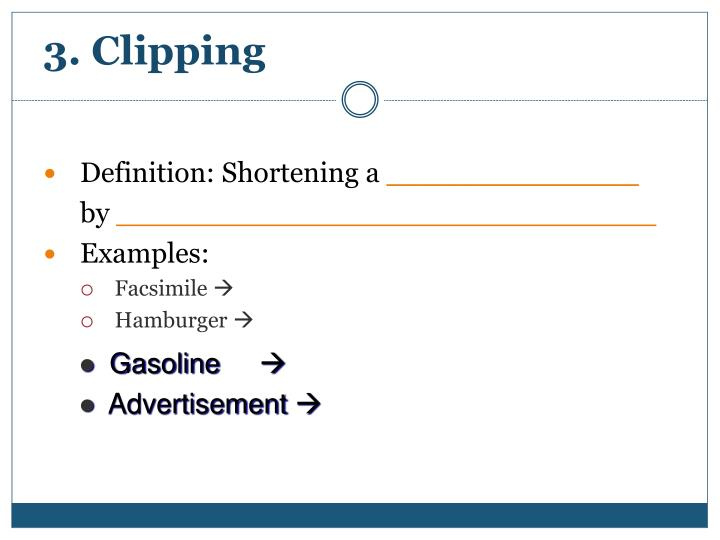 3. Clipping