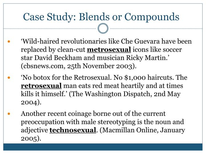 Case Study: Blends or