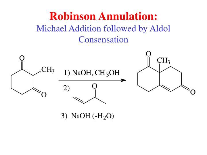 Robinson Annulation: