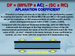 df 80 tp x ac sc x rc aplanation coefficient1