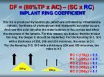 df 80 tp x ac sc x rc implant ring coefficient1