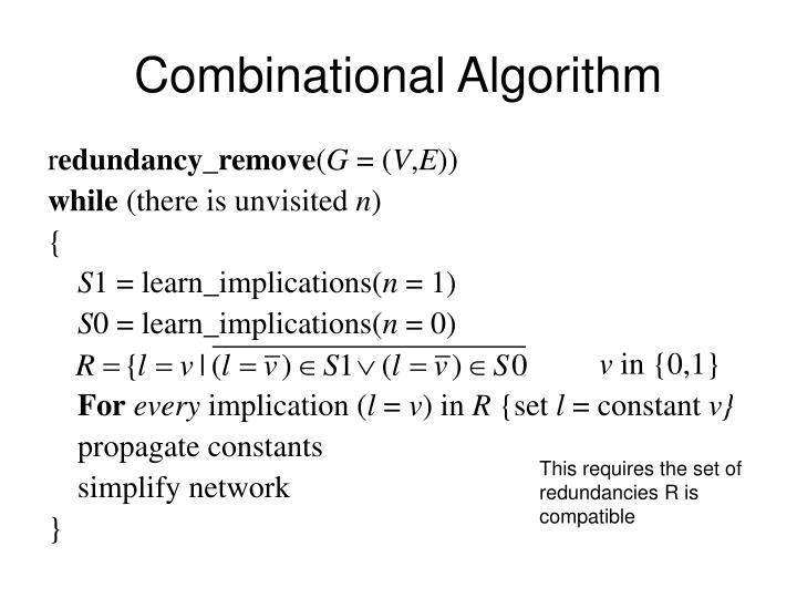 Combinational Algorithm