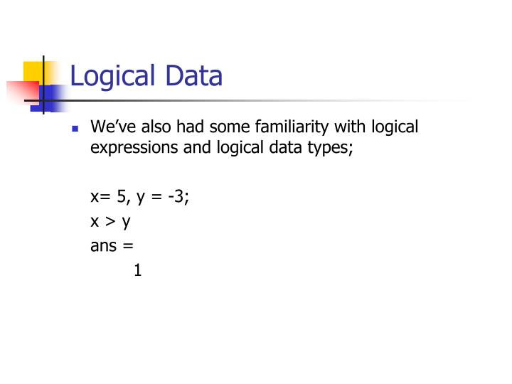 Logical Data