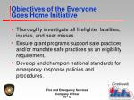 objectives of the everyone goes home initiative3