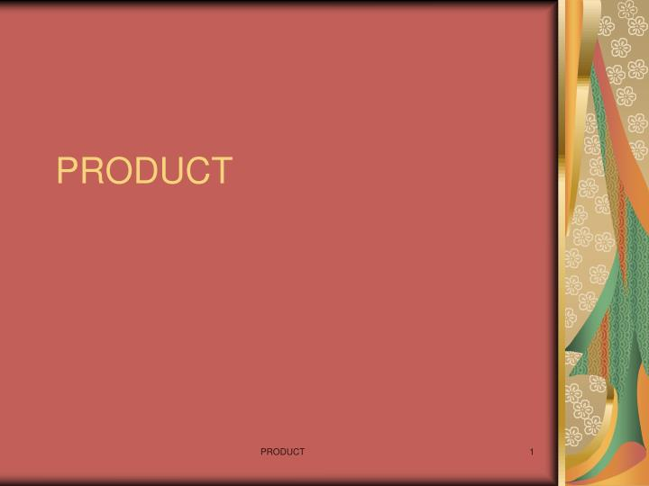 product n.