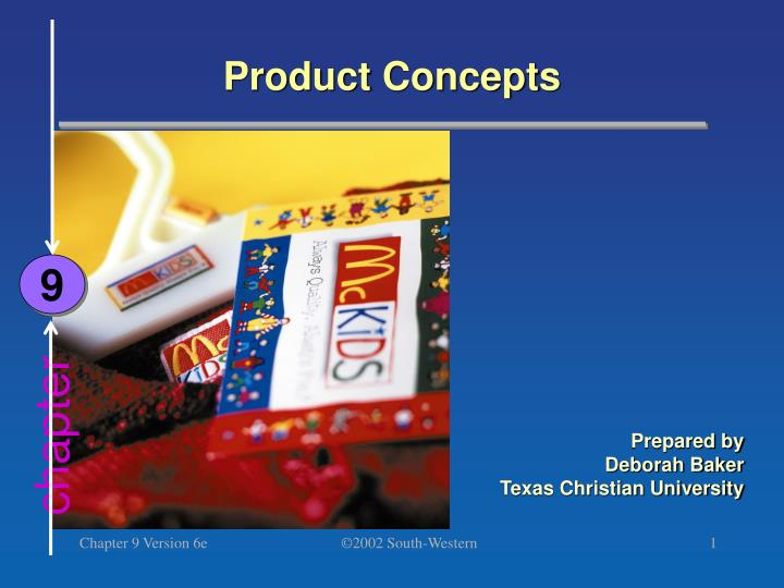 product concepts n.
