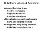 substance abuse addiction