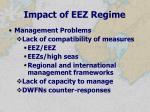impact of eez regime