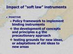 impact of soft law instruments