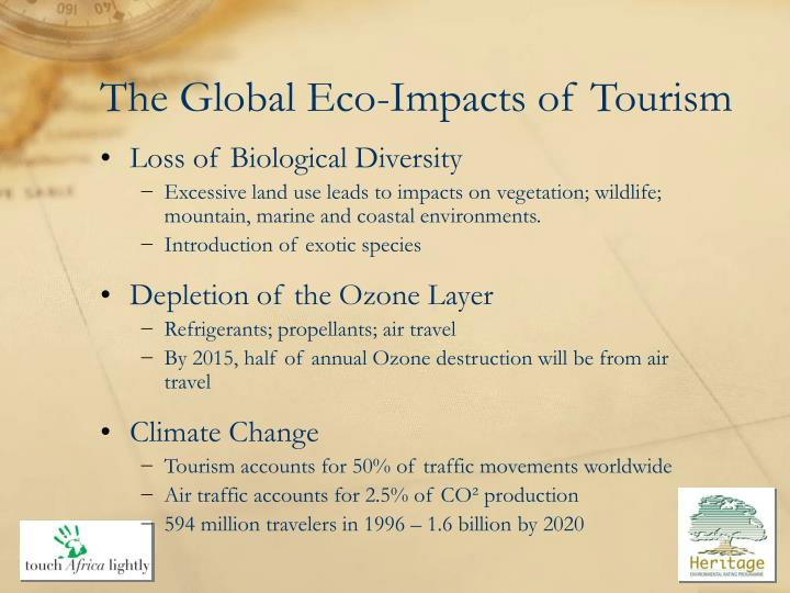 The Global Eco-Impacts of Tourism