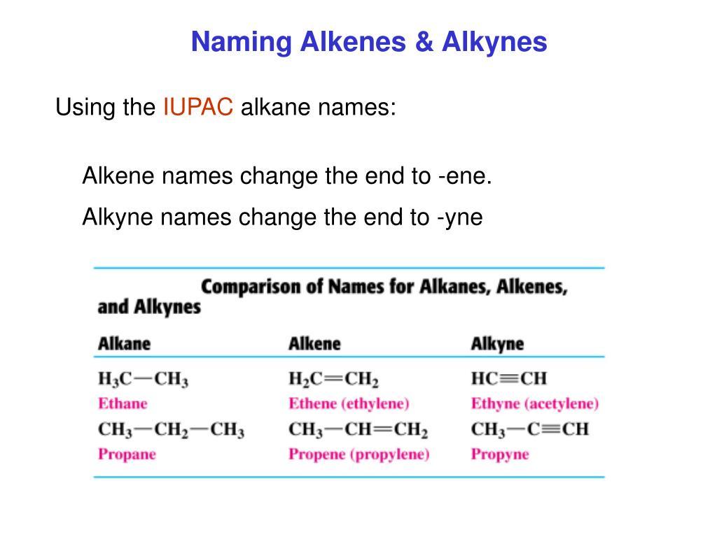 PPT - Chapter 10 – 13 Organic Chemistry Alkanes, Alkenes, Alkynes