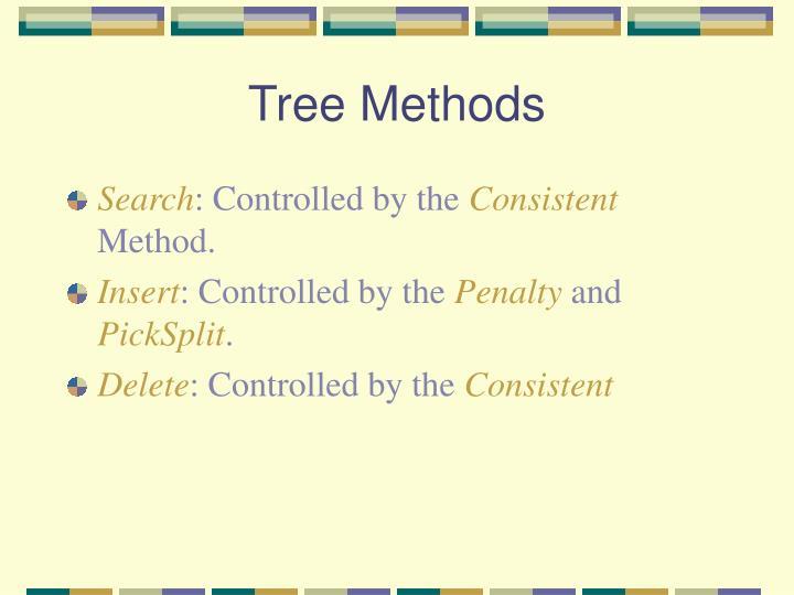 Tree Methods
