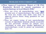 problems with current law1