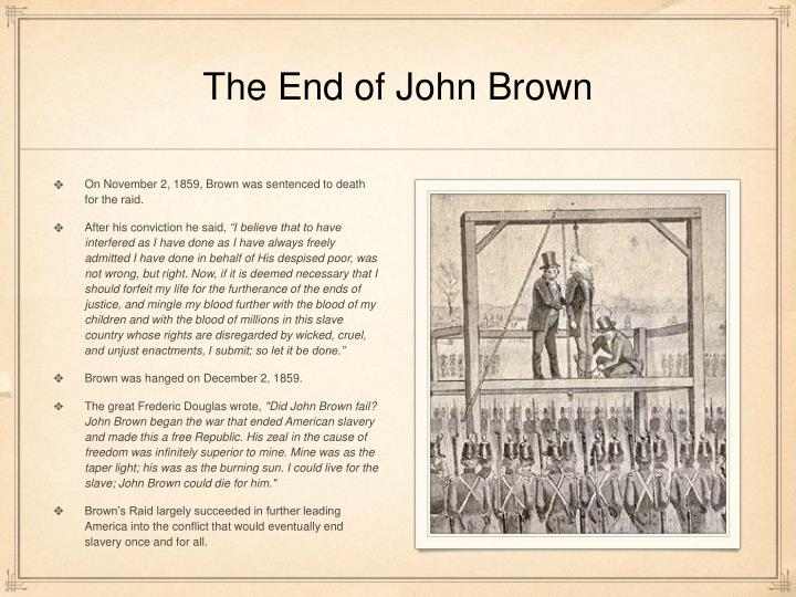 The End of John Brown