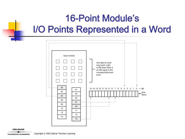 16-Point Module's