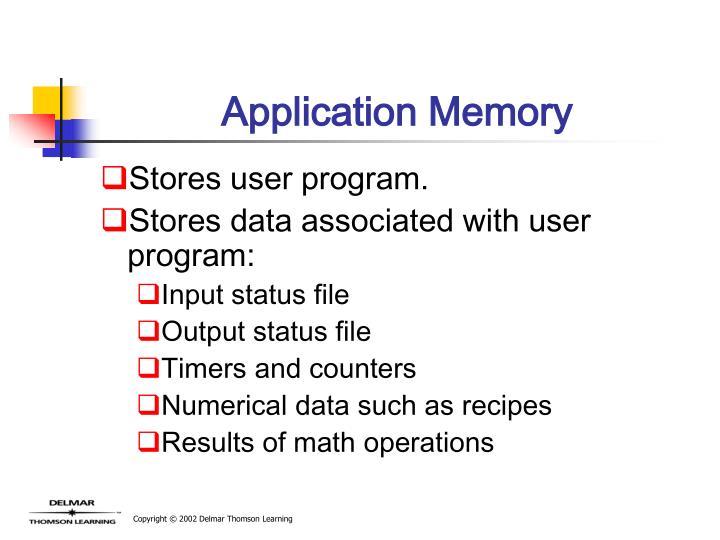 Application Memory