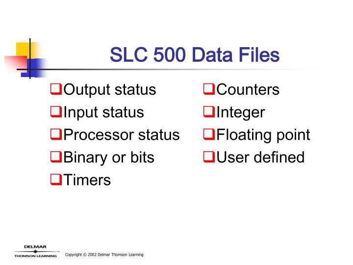Output status
