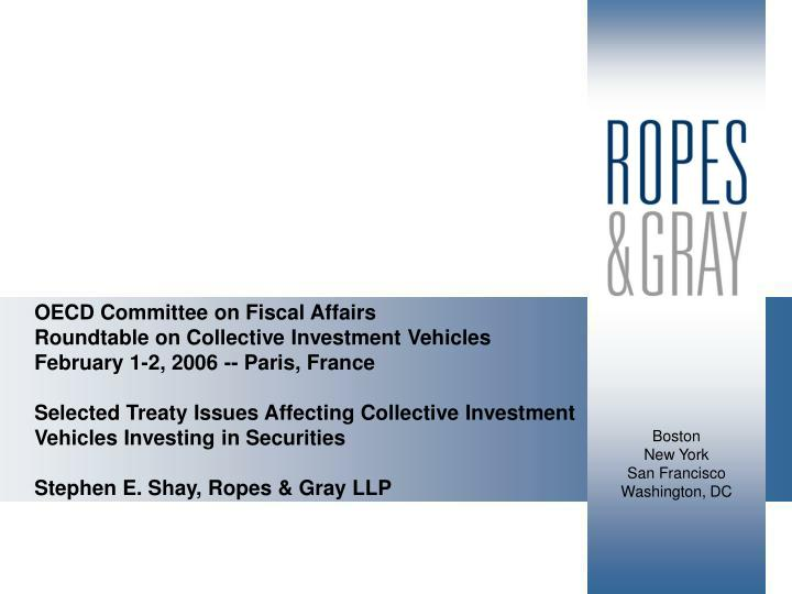 OECD Committee on Fiscal Affairs