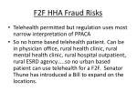 f2f hha fraud risks