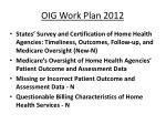 oig work plan 2012