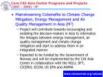 core cai asia center programs and projects 2007 2009 m 3
