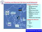 existing and planned cai asia local networks