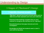 3 stages of backward design1