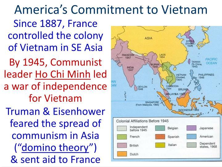 America s commitment to vietnam