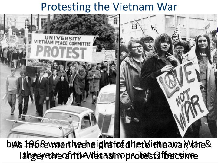 Protesting the Vietnam War