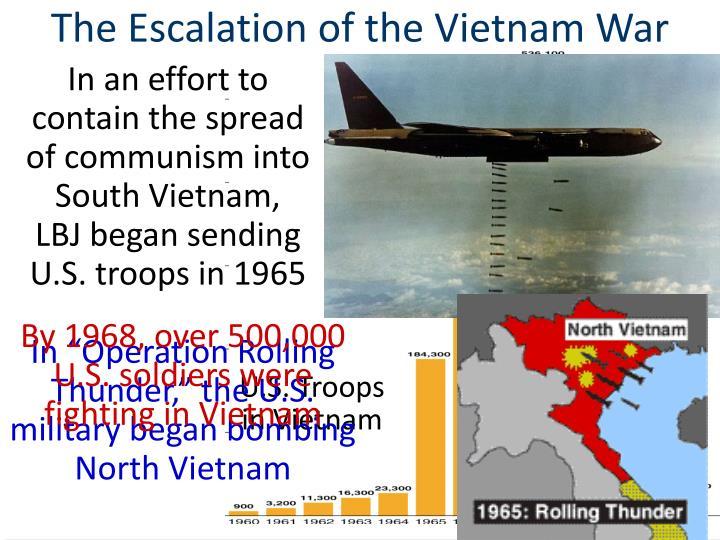 The Escalation of the Vietnam War