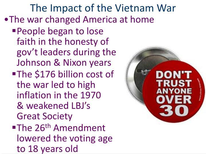 The Impact of the Vietnam War
