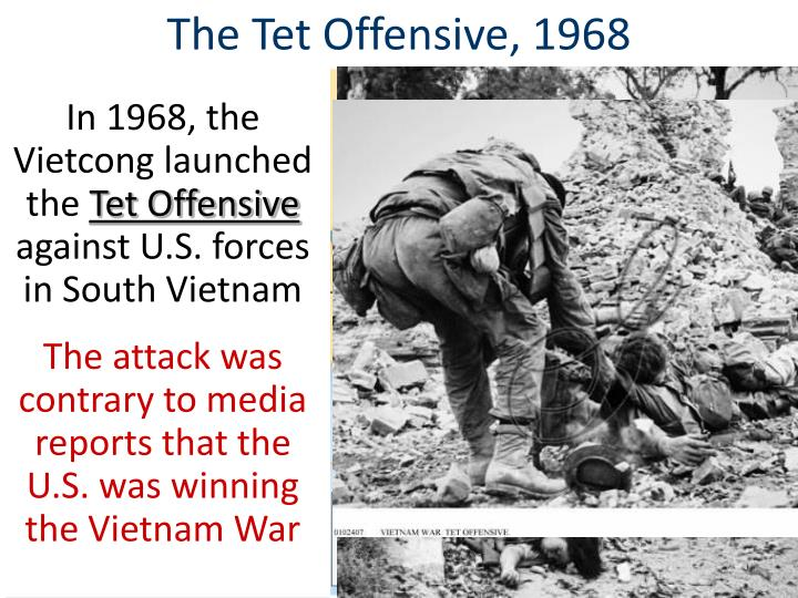 The Tet Offensive, 1968