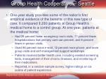 group health cooperative seattle