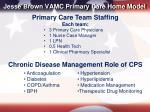 jesse brown vamc primary care home model