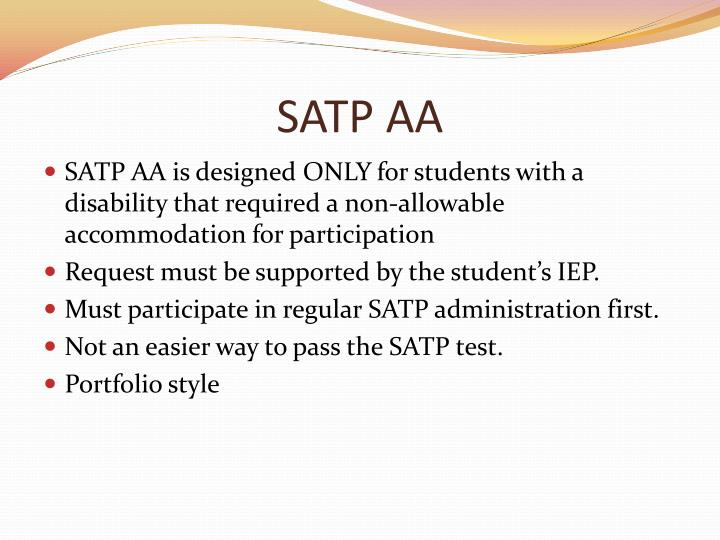 SATP AA