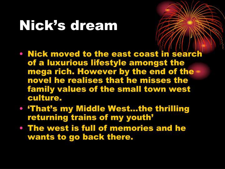 Nick's dream