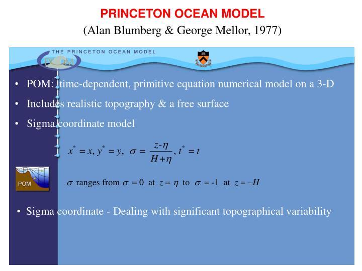 PRINCETON OCEAN MODEL