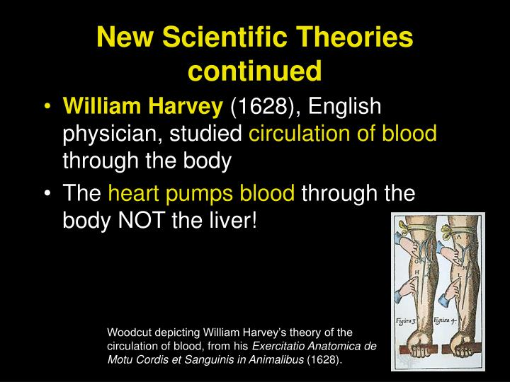 New Scientific Theories continued
