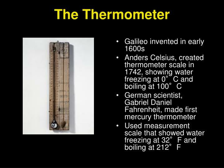 The Thermometer