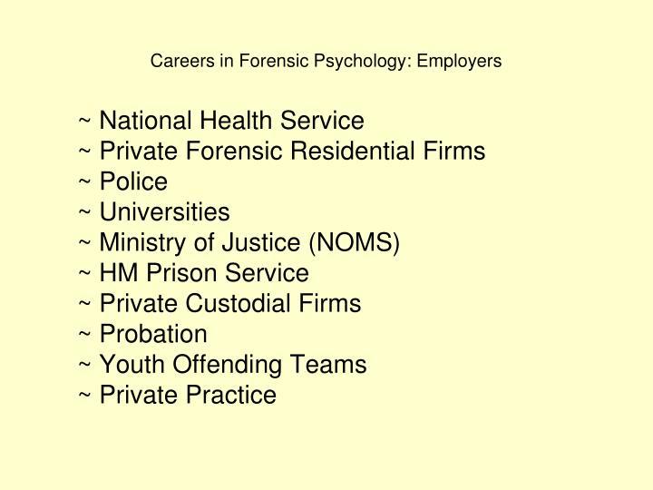 ~ National Health Service